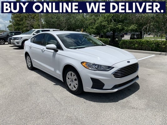 Ford Fusion St >> 2019 Ford Fusion S